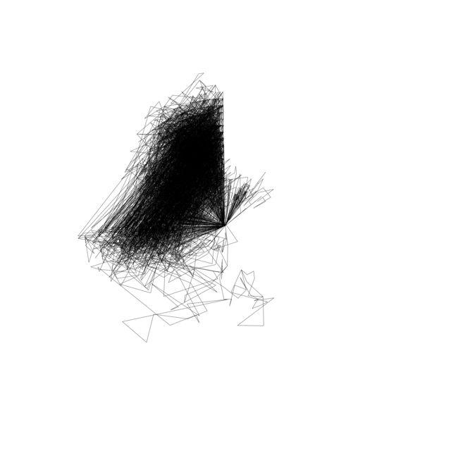 , 'Wind Line (Atacama, 11.08.14),' 2014, SIM Galeria