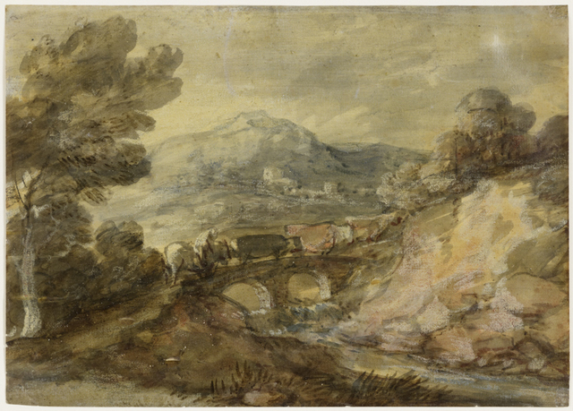, 'Landscape with Cattle Crossing a Bridge,' ca. 1785, The Frick Collection