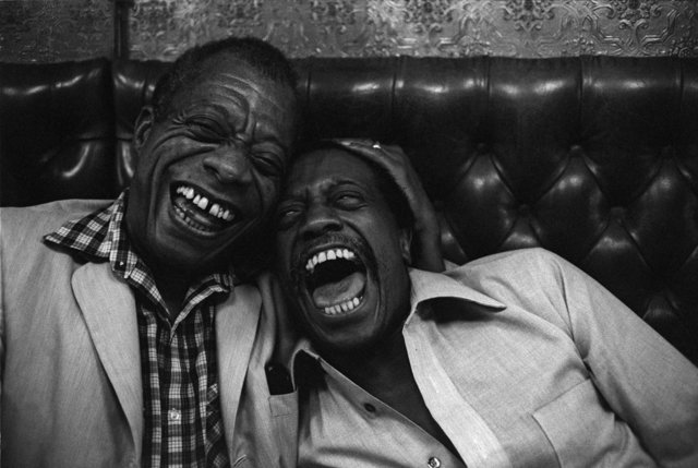 Jane Evelyn Atwood, 'James Baldwin with his brother David, Paris', 1981, L. Parker Stephenson Photographs