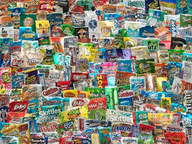 , 'Chips Bags and Candy Wrappers,' 2016, American Society of Media Photographers
