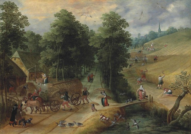 , 'Summer,' , Christie's Old Masters