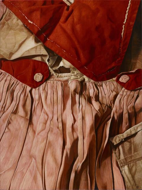 , 'Broken White Threads on Red,' 2015, Mind Set Art Center