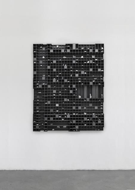 Levi van Veluw, 'Untitled', 2017, Sculpture, Wood, black ink and stones, Eduardo Secci Contemporary