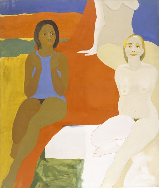 , 'Three Figures,' 1966, Brooklyn Museum
