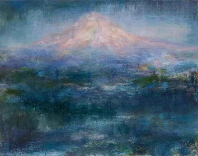 , 'Quiet Night, Mt. Hood,' 2017, PDX CONTEMPORARY ART