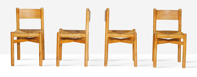 Charlotte Perriand, 'Set of 4 chairs', 1964, Aguttes