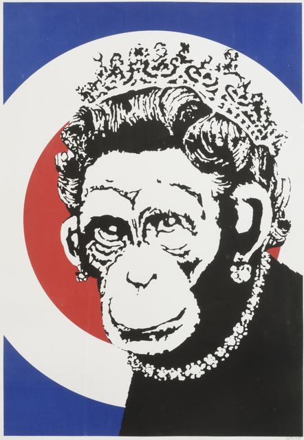 Banksy, 'Monkey Queen', 2003, Digard Auction
