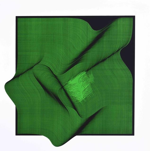 , 'Composition (green),' 2018, Contempop Gallery