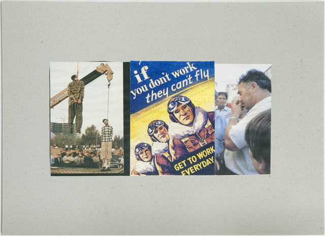 , 'If you don't work, they can't fly,' 2007, P74 Gallery