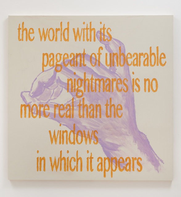 , 'The World With Its,' 2013, Roberts & Tilton