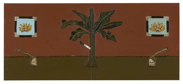 , 'Enfia a faca na bananeira,' 2017, New Museum