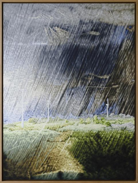 , 'Schauer (216L),' 2016, Galería Juana de Aizpuru