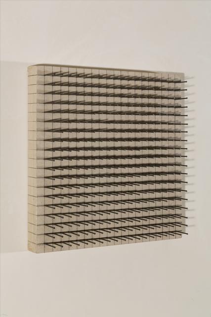 , 'Reihe,' 1969, Galerie Knoell, Basel