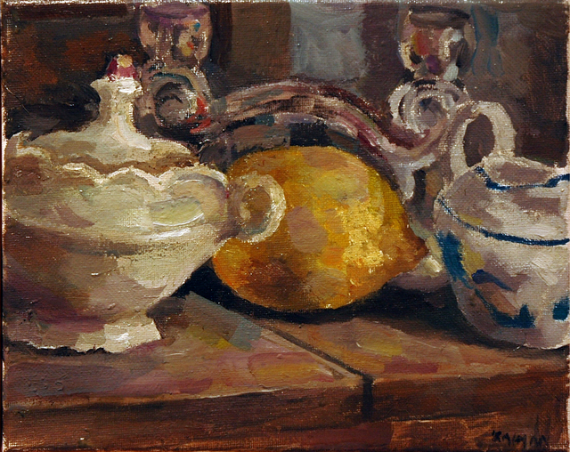, 'Lemon and Sugar Bowl,' 2019, Blue Mountain Gallery