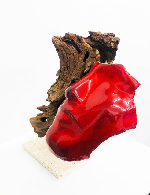 ROSA-TERRA by Rosanna, 'Spirito rosso', 2018, Galerie Libre Est L'Art