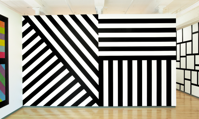 , 'Wall Drawing #631 and #630,' 1990, MASS MoCA