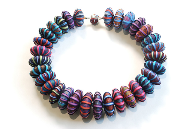, 'Big Bead Necklace #179,' 2017, form & concept