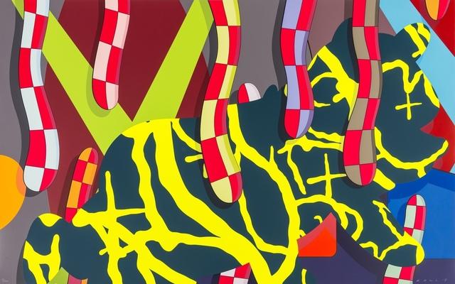 KAWS, 'Far Far Down', 2018, Print, Screenprint in colours, Forum Auctions