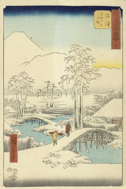 , 'Numazu,' 1855, Ronin Gallery