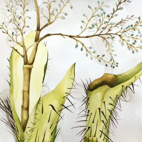 Idoline Duke, 'Palm Detail IV', 2016, ARC Fine Art LLC