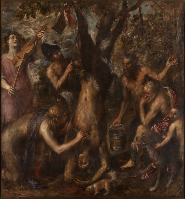 Titian, 'The Flaying of Marsyas ', probably 1570s, The Metropolitan Museum of Art