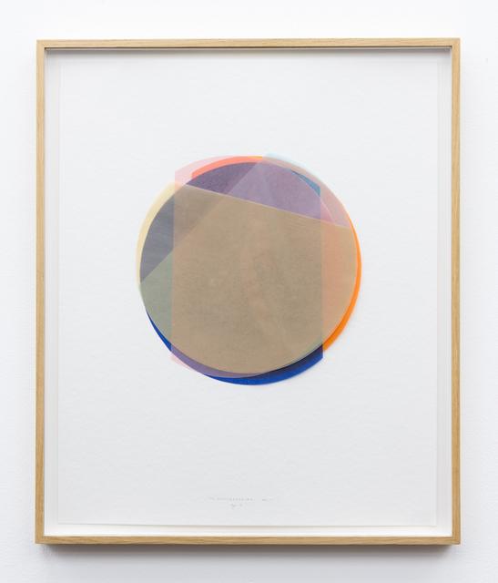 , '3/4 Kreisexzenter 11,' 2013, Galerie Gisela Clement