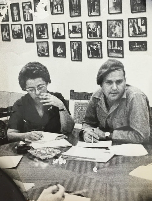 , 'Early Revolutionary Events / Set Of Five Photographs: Man And Woman Committee Work, Early Revolutionary,' ca. 1960, Rebekah Jacob Gallery