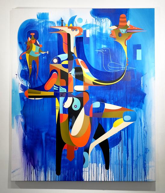, 'H. Thrice,' 2014, Jonathan LeVine Projects
