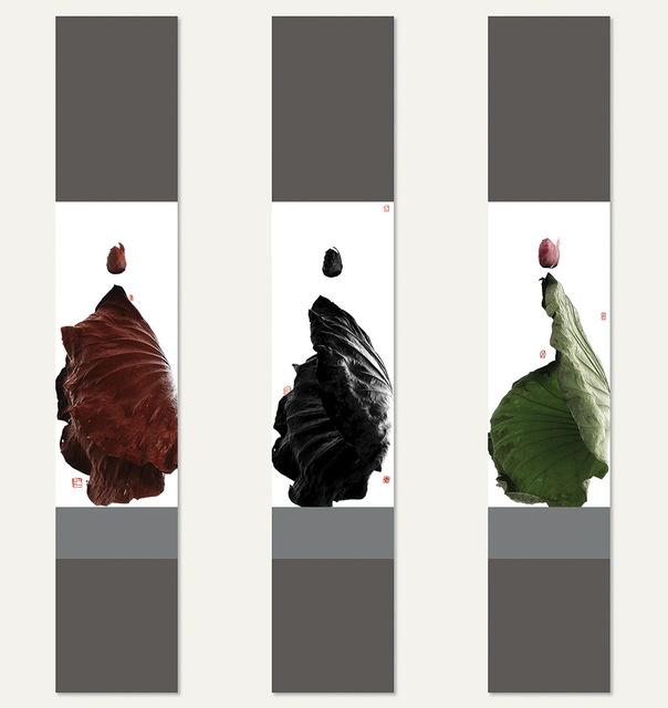 , 'From Su Shi to Bada Shanren-Respond to Lui Shou-kwan-triptych從蘇東坡想起八大山人之回應呂壽琨老師 -三聯幅,' 2015, Alisan Fine Arts