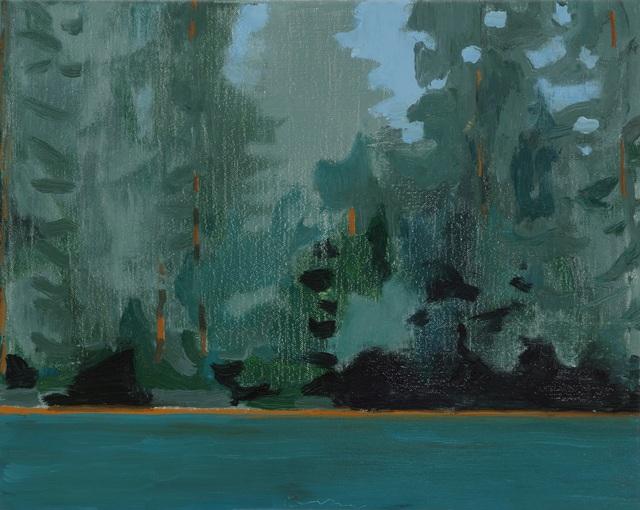 , 'Lake Edge I,' 2018, Tayloe Piggott Gallery