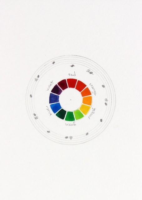 , 'Musical Color Wheel,' 2014, InLiquid
