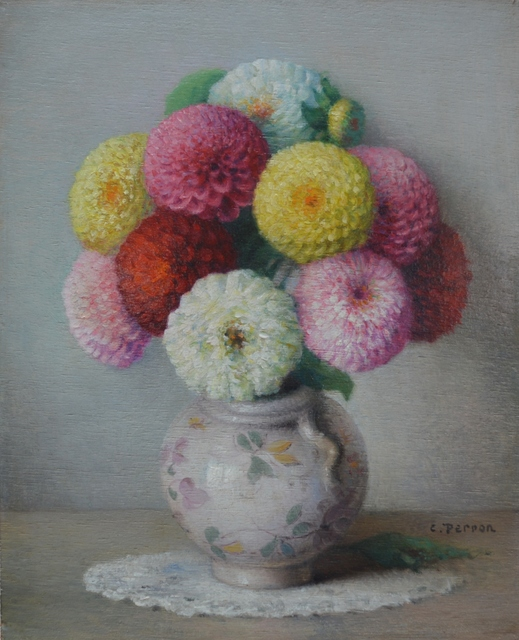 , 'Bouquet de Zinnias,' , Gladwell & Patterson