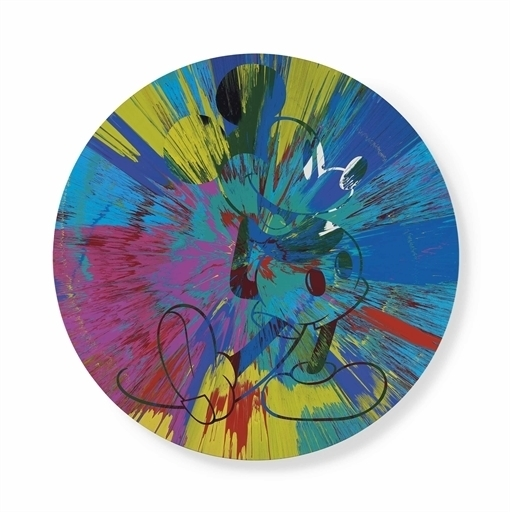 Damien Hirst, 'Beautiful Mickey Mouse Painting', Christie's