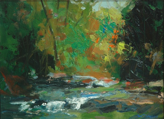 , 'October on Bill's Creek,' 2018, Shain Gallery