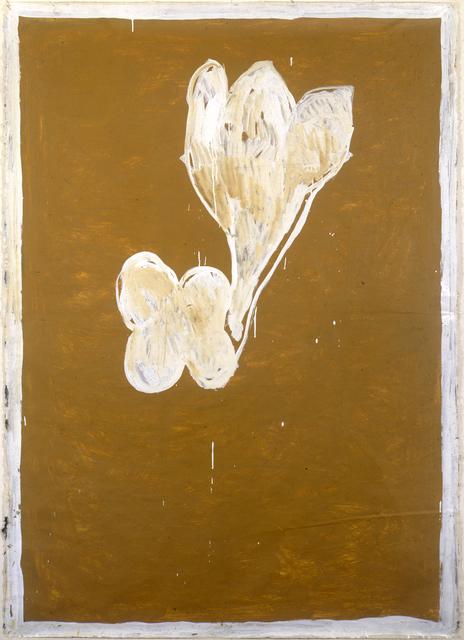 , 'Ocre i flors,' 1988, Galería Joan Prats