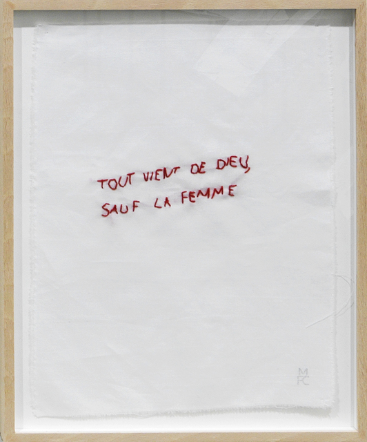 , 'Ma collection de proverbes,' 1974-2012, mfc - michèle didier