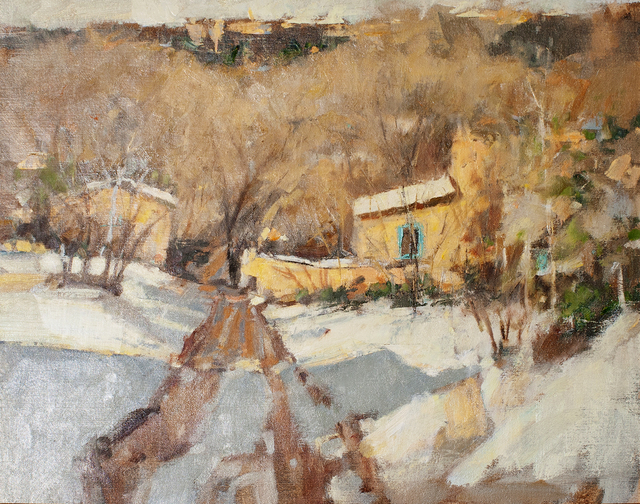 , 'Village Road in Winter,' , Ventana Fine Art