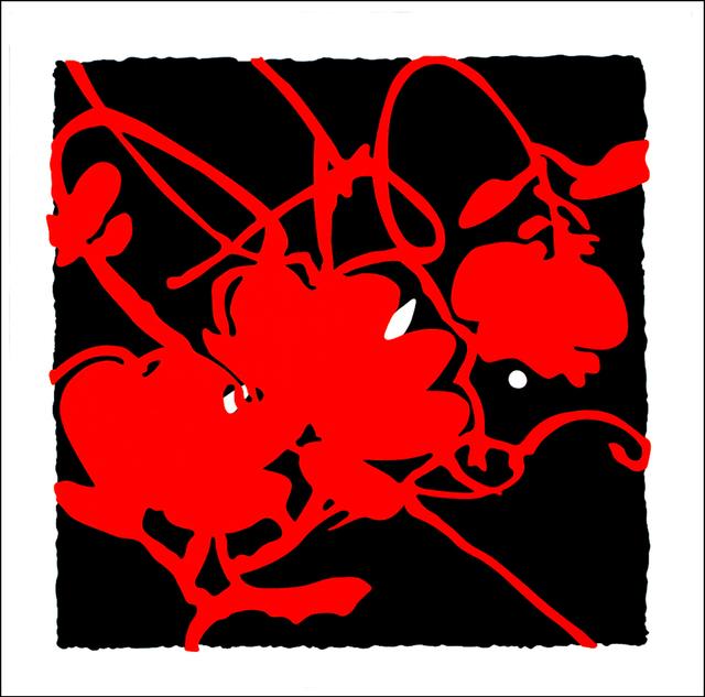 , 'Black and Red, Feb 15, 2012,' 2012, Meyerovich Gallery