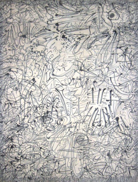 Friedel Dzubas (1915-1994), 'Grey Abbey', 1968, Painting, Oil on Canvas, Anita Shapolsky Gallery