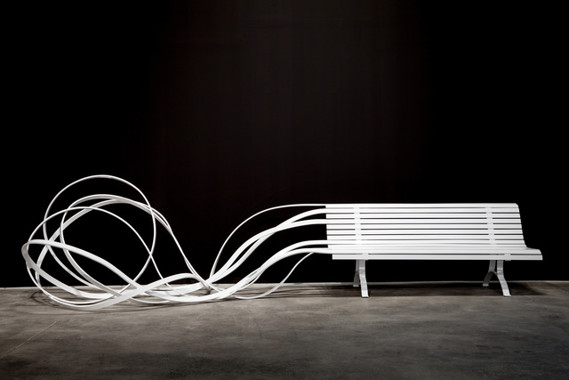 , 'White Sand Bench,' 2017, Custot Gallery Dubai