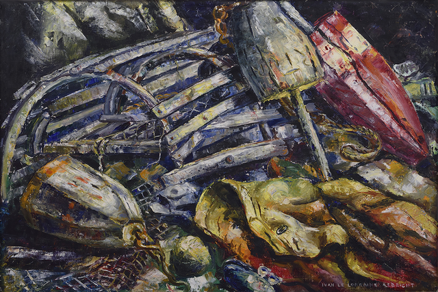 , 'Lobsterman's Catch,' 1940, Forum Gallery