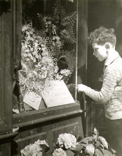 Dora Maar, 'Little Boy Looking in a Funeral Store Window (Paris)', 1930c/1930c, Contemporary Works/Vintage Works