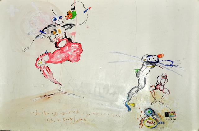 , 'Histoire pour trois,' 2013, In Situ - Fabienne Leclerc