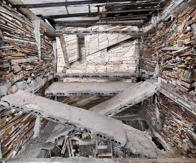 , 'Destroyed House Op Noord 1,' 2014, Bruce Silverstein Gallery