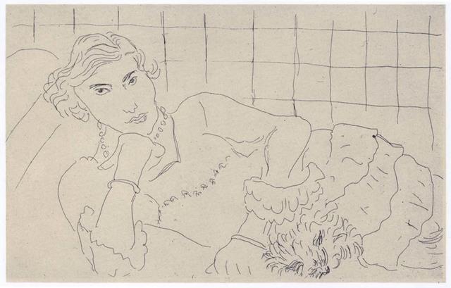 , 'Jeune Femme et son Chien,' 1929, Alan Cristea Gallery