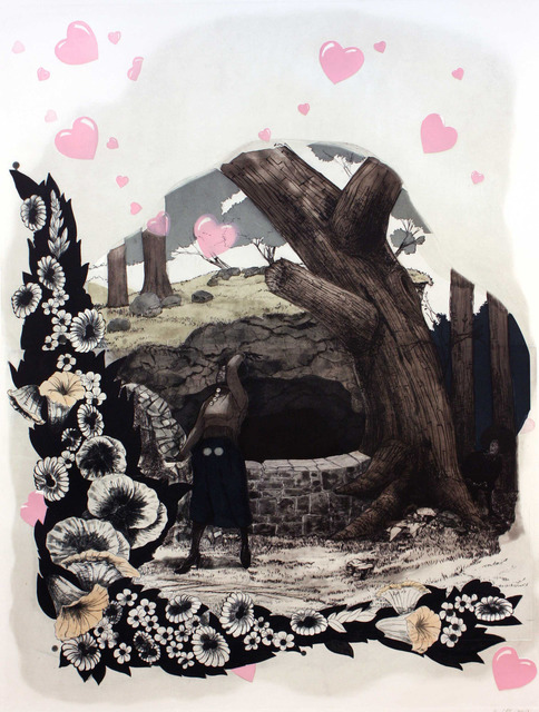 , 'Vignette (Wishing Well),' 2010, Paulson Fontaine Press