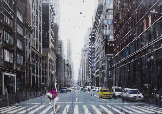 , 'I Saw a Fuchsia Ostrich Passing..,' 2018, Eden Fine Art