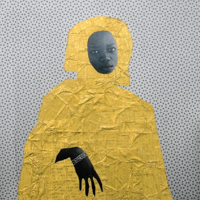 , 'N'goné, Or serie,' 2013, Galerie Cécile Fakhoury - Abidjan
