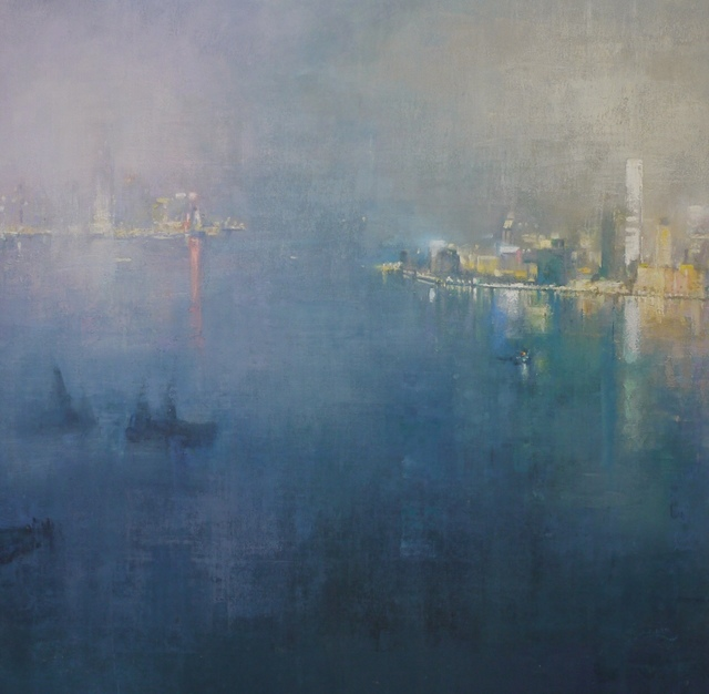 , 'Tranquil Evening, Hong Kong Harbour,' 2017, Tanya Baxter Contemporary