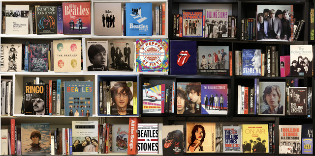 , 'Beatles vs. Stones,' 2018, Axiom Contemporary